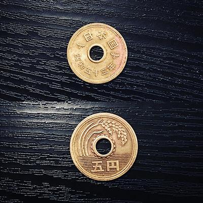 mince goen - 5 jenů
