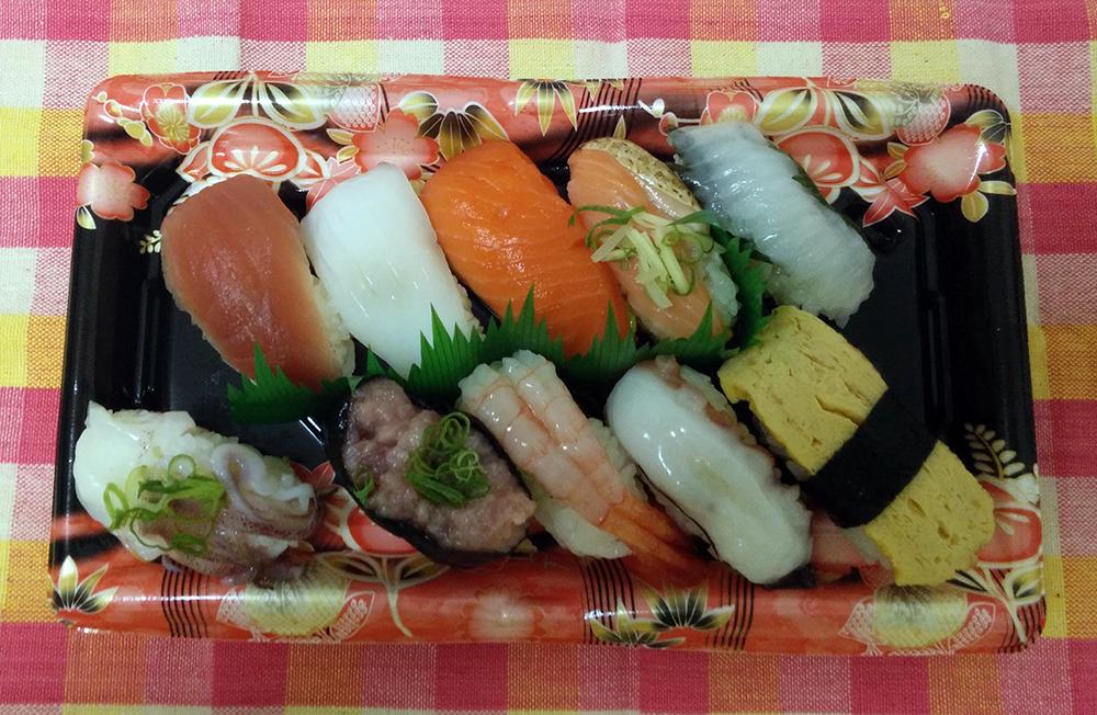 Box z japonského supermarketu